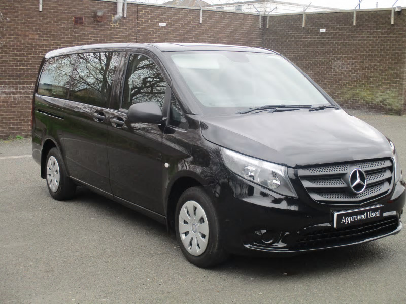 Mercedes benz vito 111 bluetec tourer pro bell truck and van for Mercedes benz vito tourer