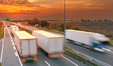 Lorry 'platooning' could have 'major benefits'