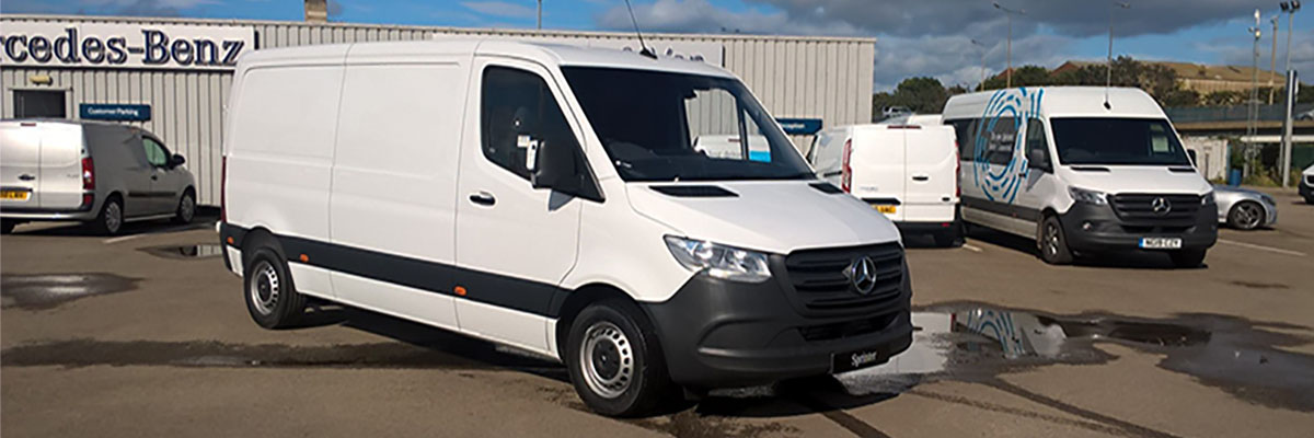 Exclusive Sprinter 314CDI H1 L2 FWD Offer - just £22,881 + VAT + RFL