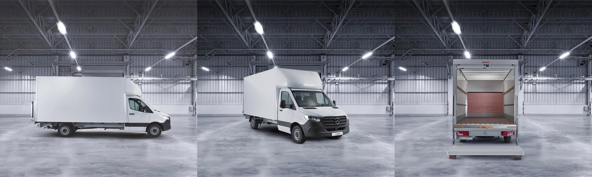 Mercedes-Benz Sprinter 314CDi Luton from only £450* per month