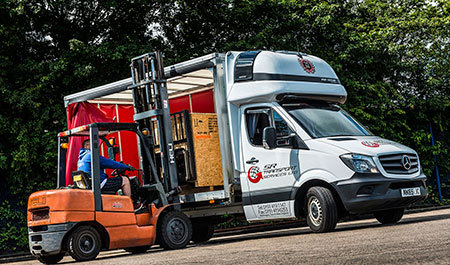 Mercedes-Benz Sprinter lifts the curtain on SR Transports Silver Anniversary celebrations
