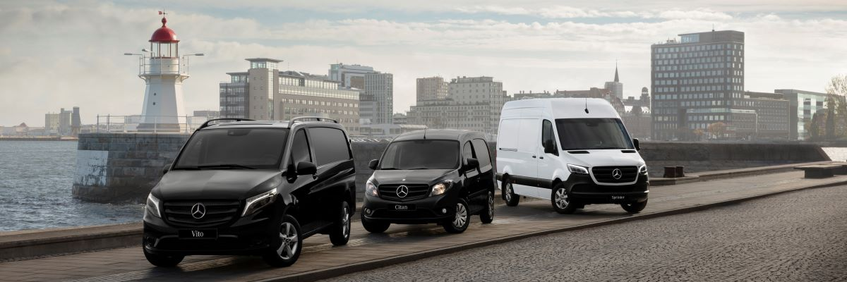 0% APR across the Mercedes-Benz van range