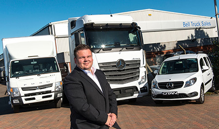 Mercedes-Benz Trucks secures further representation in Scotland