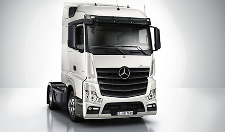 Immediate Availability on New Actros 2545LS