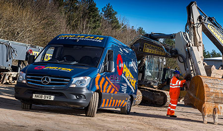 Pirtek picks a Premium package with new Mercedes-Benz Sprinter