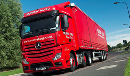 Sixth sense pays off for Mercedes operator Murray Hogg