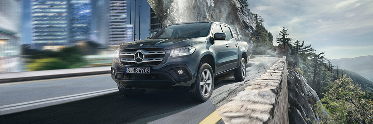 Brand New Mercedes-Benz X-Class Progressive from just £299* per month