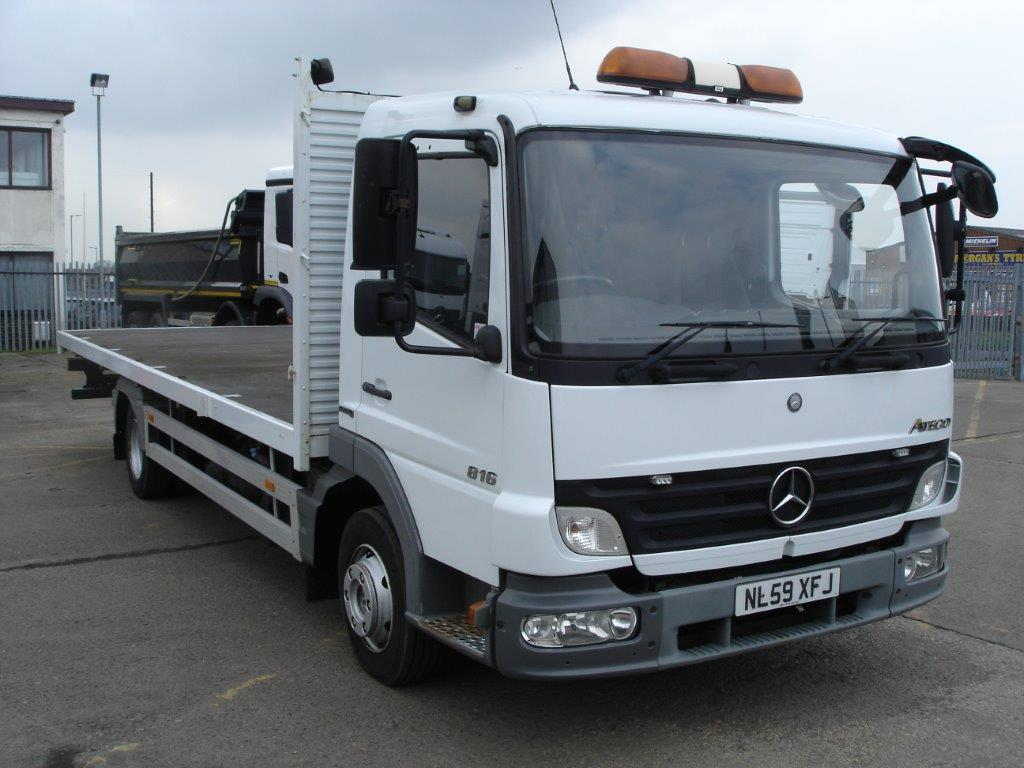 Mercedes-Benz Atego 816 S-Cab Rigid