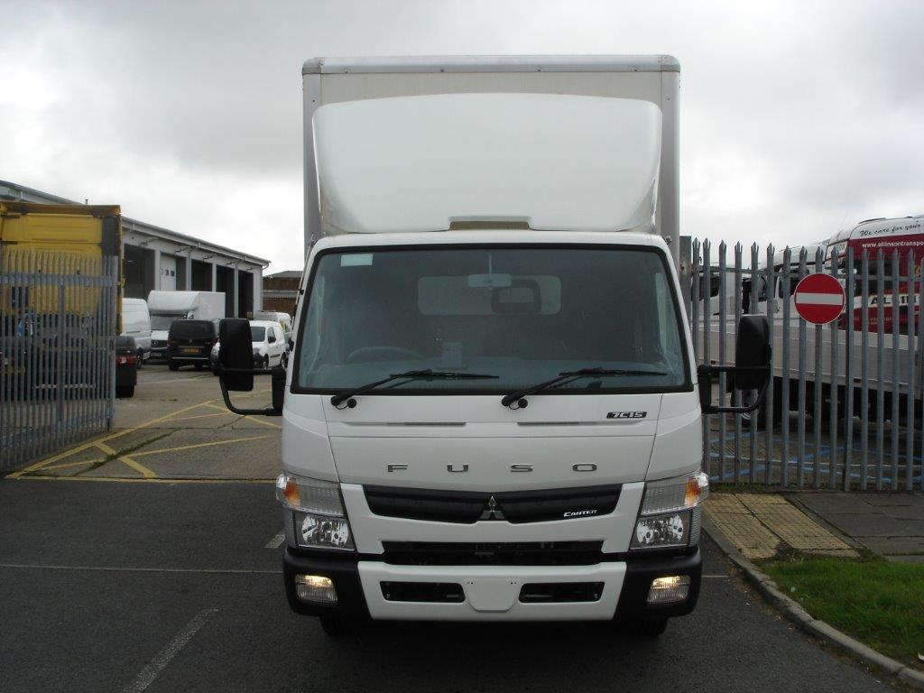 Fuso Canter 7c 15 Curtain Side Body Bell Truck And Van