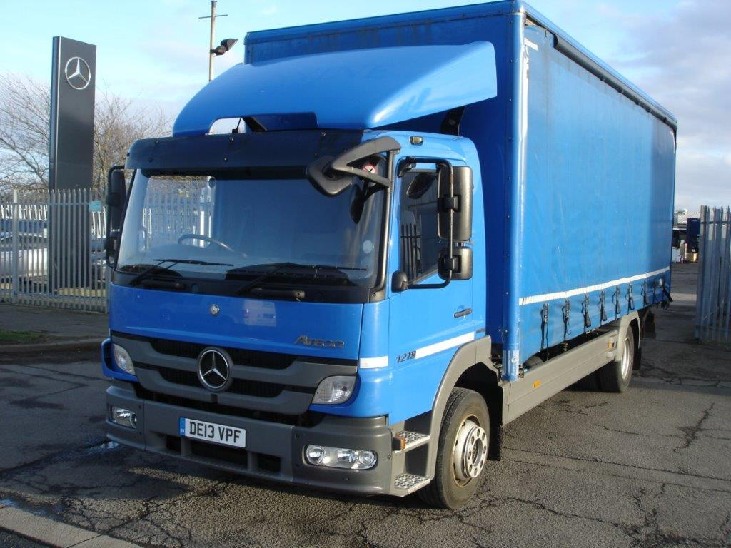 Mercedes-Benz Atego 1218 Day Cab