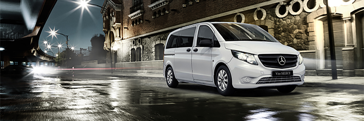 Brand New Mercedes-Benz Vito 119CDI Tourer Select - Just £495* per month